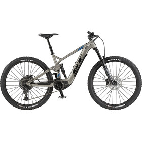 GT Bicycles eForce Amp, titanium silver